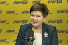Beata Szydło wyjaśniła w RMF FM, dlaczego podczas protestu niepełnosprawnych płynęła tratwą Dunajcem.