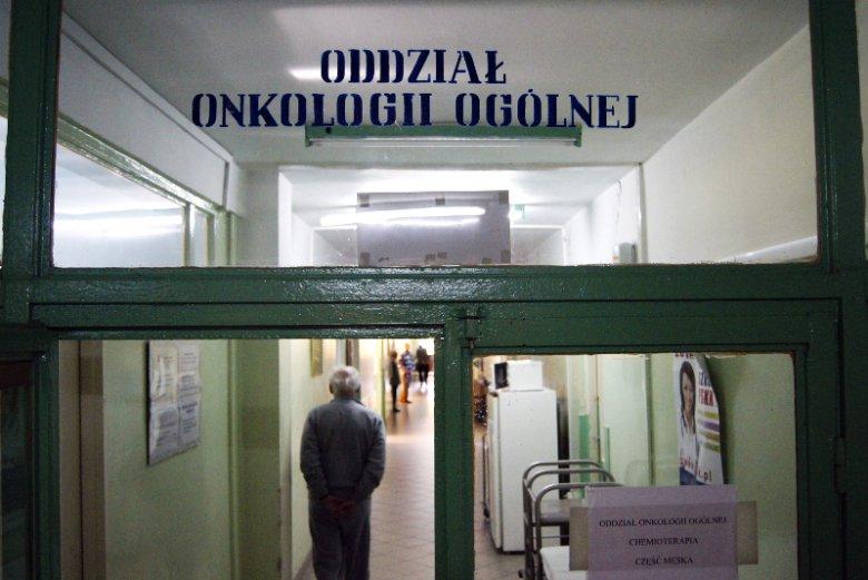 Kolejny, dramatyczny dowód, jak bardzo niedofinansowana jest onkologia w Polsce.