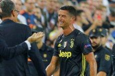 Ronaldo nie potrafił ukryć emocji po czerwonej kartce.