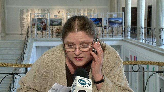 Posłanka Pawłowicz dla TVN24