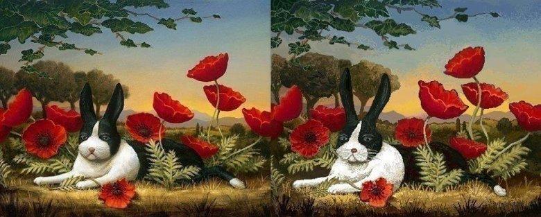 Przy niektórych reprodukcjach trudno odróżnić oryginał od kopii w Paincie