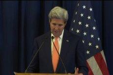 John Kerry w Genewie.