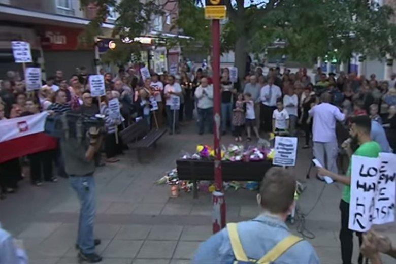 Atak na dwóch Polaków w Wielkiej Brytanii. Zaledwie dwanaście godzin po marszu milczenia