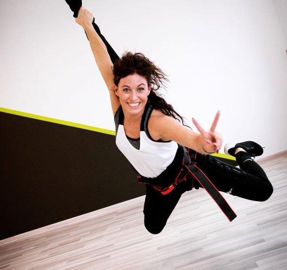 Agnieszka Szaniawska - instruktorka bungee fitness