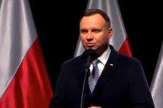 Słowa Andrzeja Dudy zaskakują i oburzają.