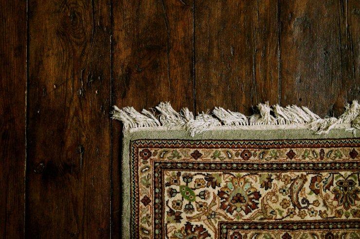 Stara, autentyczna drewniana podłoga