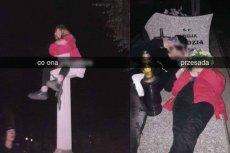 Licealistka z Jastrzębia postanowiła uczcić urodziny swojego chłopaka wizytą na cmentarzu...