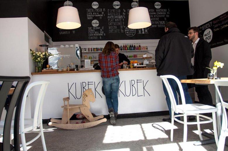 """Kawiarnia """"Kubek w Kubek"""" w Warszawie"""