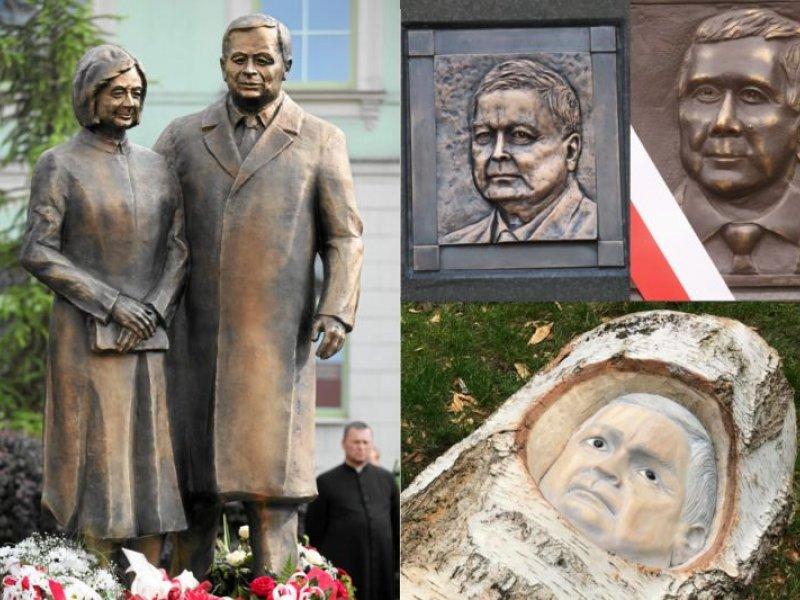 8efb2c06eabf9c Pomniki Lecha Kaczyńskiego i memy. 10