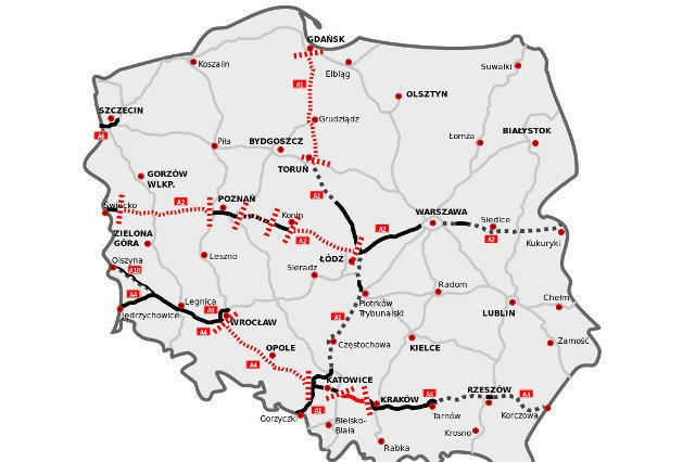 Polskie drogi to skomplikowana układanka.
