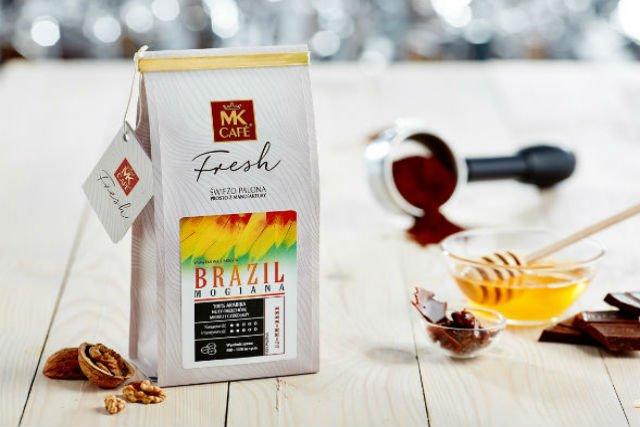 Brazilian Mogiana to najbardziej klasyczna i delikatna z kaw MK Cafe Fresh.