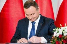 Andrzej Duda podpisał ustawę o wolnym w dniu 12 listopada.