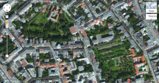 Plamy zieleni widać w Krakowie tylko z lotu ptaka, albo zdjęć satelitarnych
