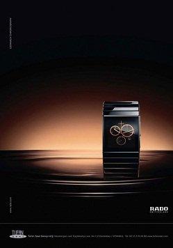 Zegarki Rado to najcieńsze zegarki świata. Należą do Grupy Swatch