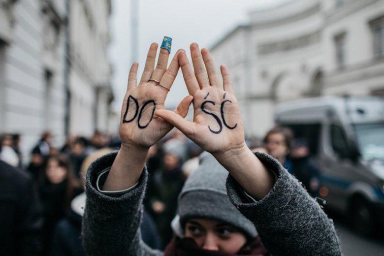 Protesty kobiet nie są rzadkością za rządów PiS