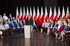 """""""Cenzura!"""" – rozległo się po spotkaniu premiera Mateusza Morawieckiego w Węgrowie."""