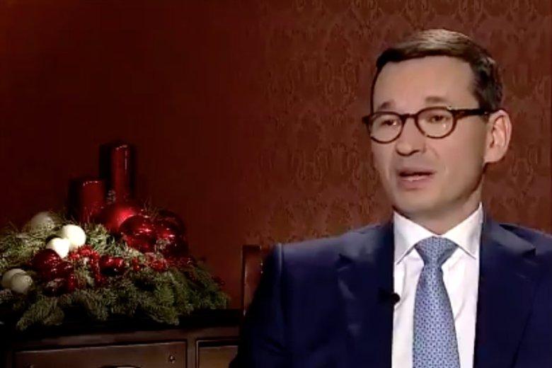 Mateusz Morawiecki o ojcu dla TVP Info: dobrze znam tego posła.