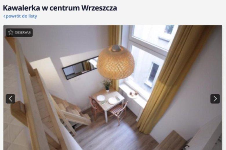 Kawalerkę można wynająć w Gdańsku.