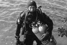 Nurek Sebastian Marczewski utonął w trakcie próby bicia rekordu świata.