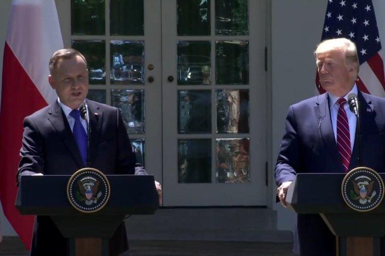 Andrzej Duda na językach amerykańskiej prasy. Chodzi o kontrowersyjny patronat.