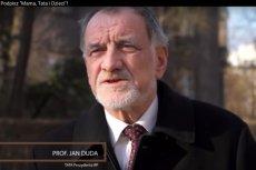 Prof. Jan Duda w kampanii przeciwko małżeństwom homoseksualnym