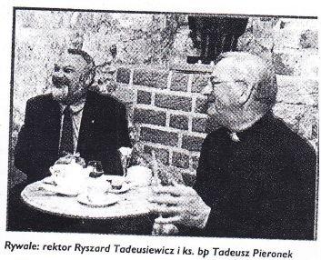 """Spotykaliśmy się wcześniej, ale rywalizowaliśmy tylko raz: podczas konkursu """"Mistrz Mowy Polskiej"""" w 2001 roku"""
