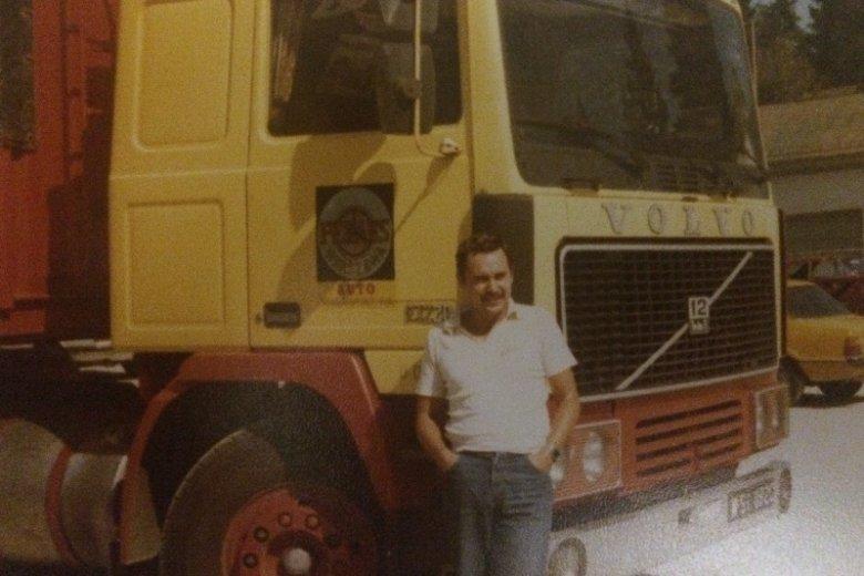 Andrzej Łabęcki kierowcą jest już od ponad 40 lat