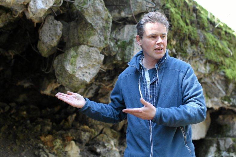 Bartłomiej Plebańczyk, dzierżawca terenów w Mamerkach, mówi o szansach na odnalezienie Bursztynowej Komnaty.