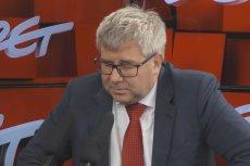 Ryszard Czarnecki w studiu głęboko się zamyślił, ale na większość pytań o sport nie znał odpowiedzi.