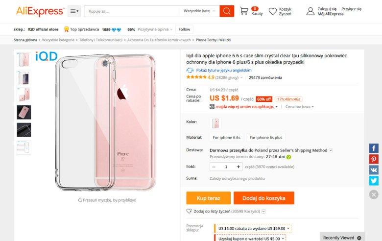 case slim crystal clear tpu silikonowy pokrowiec ochronny dla iphone 6 plus/6 s plus