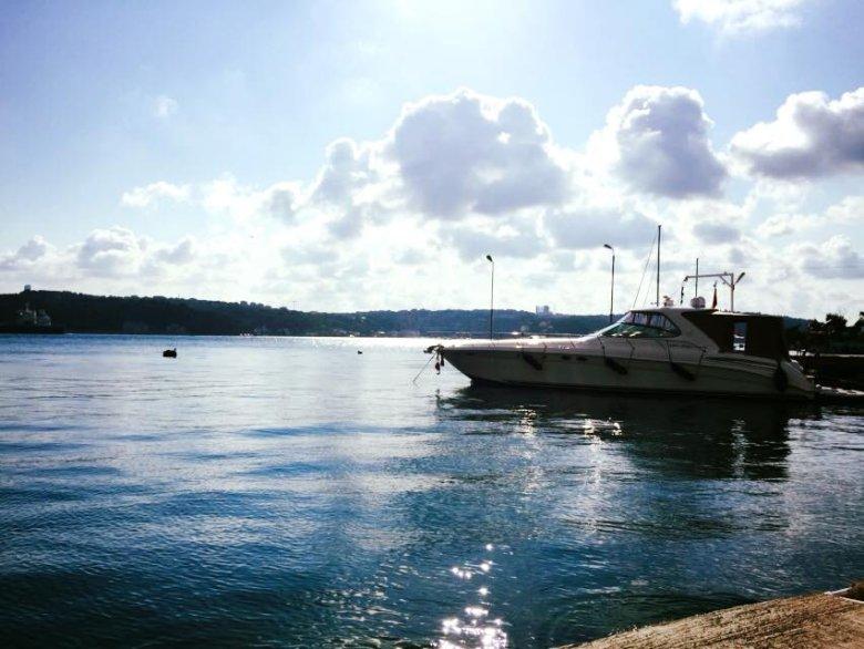 Po azjatyckiej stronie Istambułu. Piękne widoki, aż miło się siedziało tam chociaż przez chwilę.