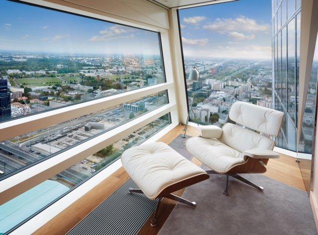 Przykładowy apartament w wieżowcu Złota 44
