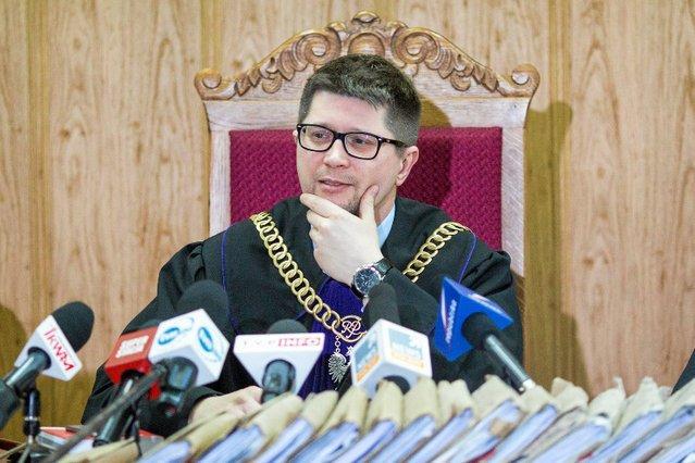 Sędzia Wojciech Łączewski został nagrodzony Złotym Paragrafem