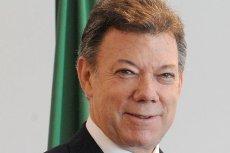 Prezydent Kolumbii z Pokojową Nagrodą Nobla.