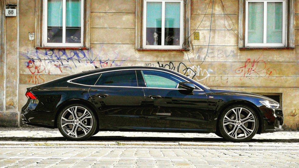 Nowe Audi A7 to jeden z modeli, w którym zastosowano już nowe nazewnictwo gamy silnikowej.