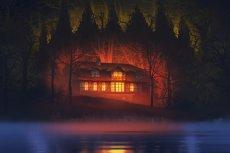 """""""Dzień wagarowicza"""" to powieść grozy, której akcja rozgrywa się w mazurskich lasach w komunistycznej Polsce z lat 50. Autorem książkowego horroru jest wielbiciel kultury masowej, Robert Ziębiński"""
