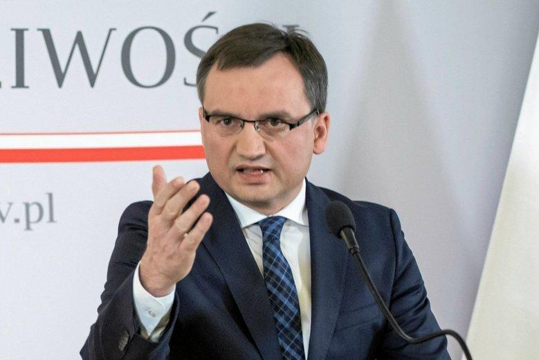 Zbigniew Ziobro chce dla mordercy Adamowicza dożywocia