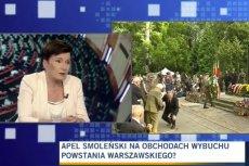 Hanna Gronkiewicz-Waltz oburzona pomysłem zaproszenia powstańców do MON.