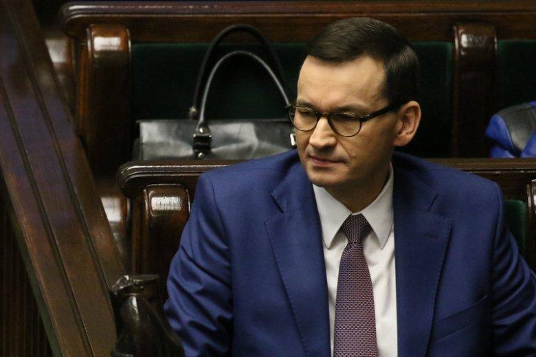 Premier Morawiecki przedstawił w środę projekt nowelizacji ws. klasyfikacji matur.