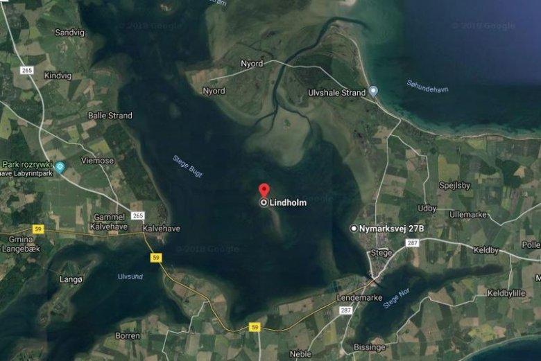 Wyspa Lindholm.