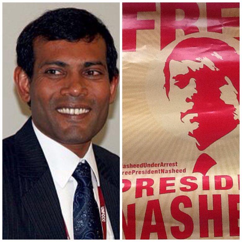 Prezydent Mohamed Nasheed