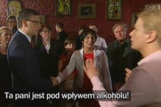 Żona Zbigniewa Ziobry przekonywała, że atakująca jej męża działaczka znajduje się pod wpływem alkoholu