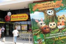 70-latka ukradła ze sklepu naklejki Gangu Słodziaków o wartości 600 zł. Grozi jej za to nawet pięć lat więzienia.
