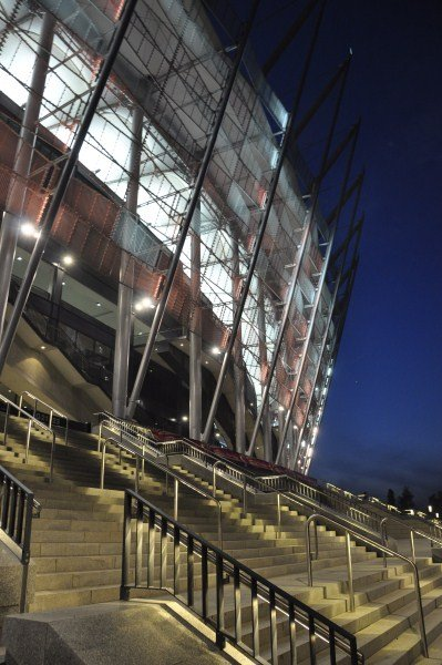 Piękny stadion na pięknym zdjęciu.
