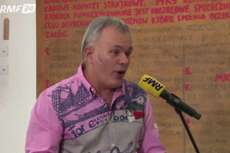 Robert Mazurek zadebiutował jako prowadzący poranne rozmowy w RMF FM. Ale nie dał rady.