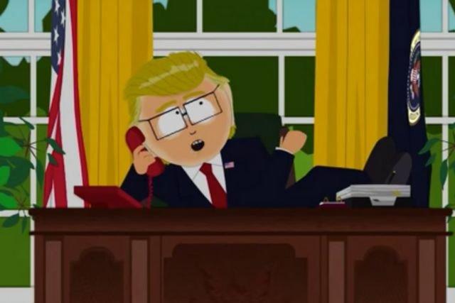 Animowany odpowiednik Donalda Trumpa obraża polskiego przywódcę.