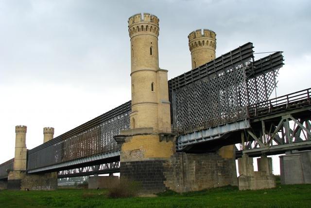 Zabytkowy Most Tczewski jest obecnie w opłakanym stanie