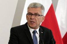 Marszałek Senatu Stanisław Karczewski twierdzi, że Sejm i Senat przyjęły ten sam projekt ustawy.