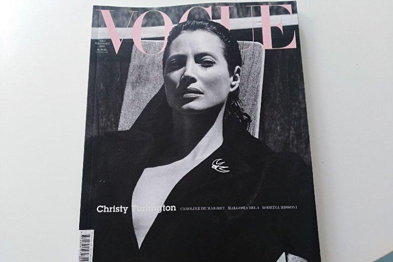 Bohaterką wrześniowego wydania polskiego Vogue'a jest Christy Turlington