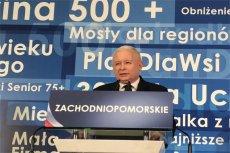 Jarosław Kaczyński mówił w Szczecinie  o patriotyzmie i historii.